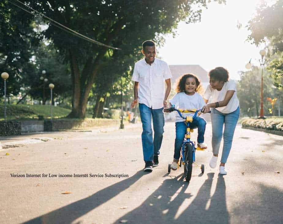 Verizon Internet for Low income Internet Service Subscription