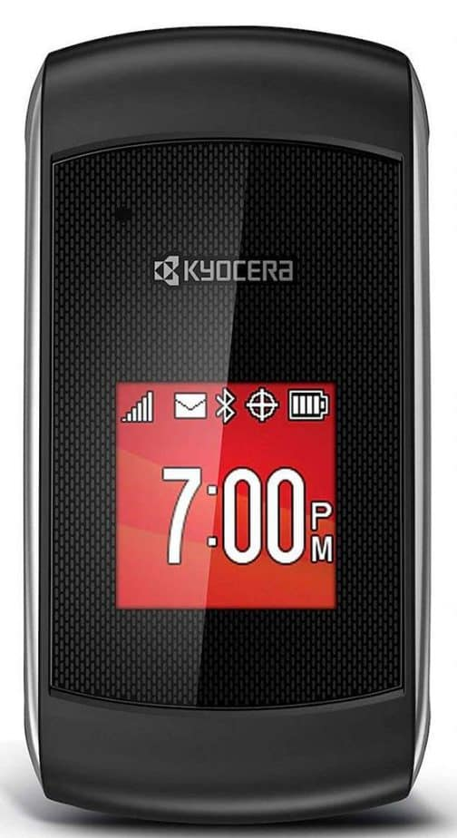 Virgin Mobile Paylo Phones - Kyocera Kona Black