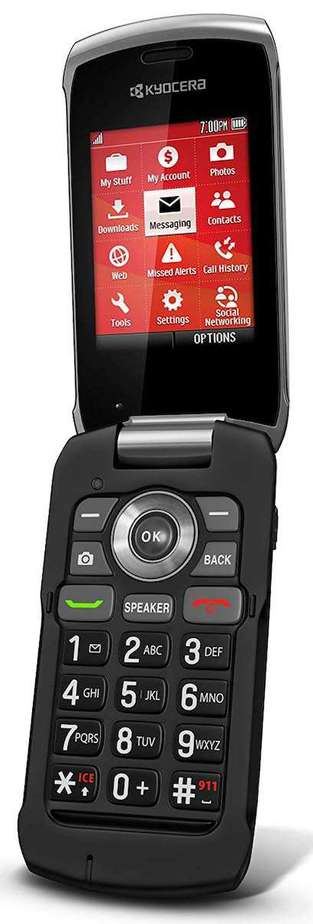 Paylo Phones for Assurance Wireless - Kyocera Kona Black