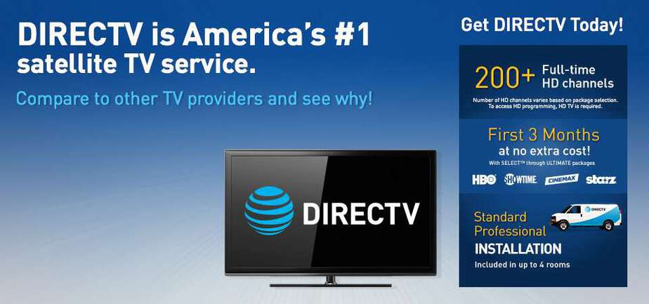 best tv and internet deals - AT&T and DirecTV Bundle
