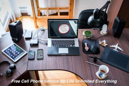 Free Cell Phone Service for Life Unlimited Everything