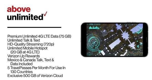 Verizon Cell Phone Plans for Seniors - Verizon Above Unlimited