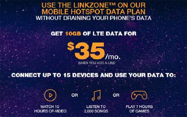 Boost Mobile $35 Hotspot Plan