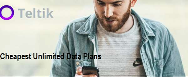 Teltik Cheap Unlimited Plan $40/m