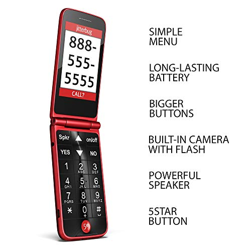 Best Jitterbug Phone for Seniors - Jitterbug Flip
