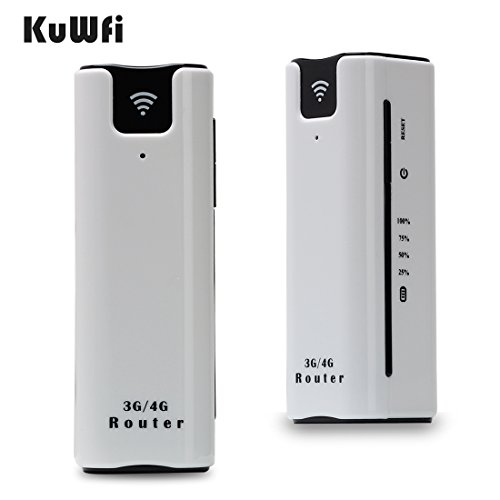 KuWFI Smart Mobile WIFI Hotspot 3G Router