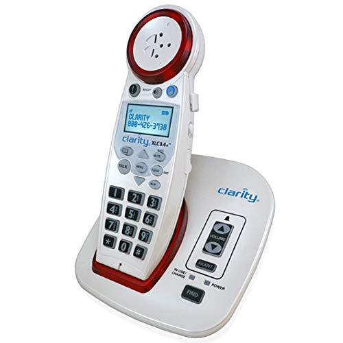 Best Cordless Phones for Seniors - Clarity XLC3.4+ Severe Hearing Loss Amplified Cordless Phone
