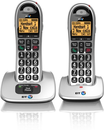 Cheap Landline Phone Service - BT4000 Big Button Advanced