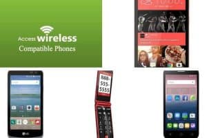Access Wireless Compatible Phones