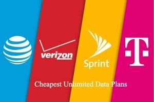 Cheapest Unlimited Data Plans