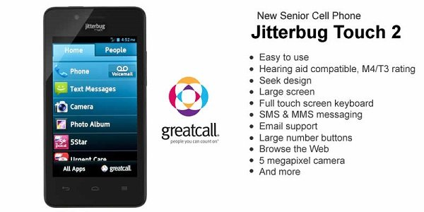 Best Jitterbug Phone for Seniors - Jitterbug Touch 2