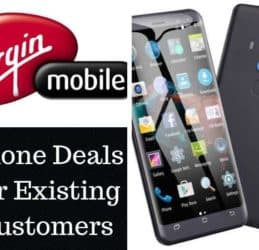 Virgin Mobile Phone Deals for Existing Customers