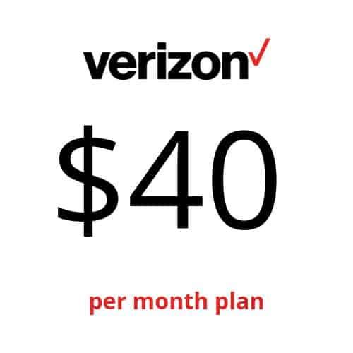 10 Best Verizon Business Cell Phone Plans 2019 - Verizon Business Cell Phone Plan $40