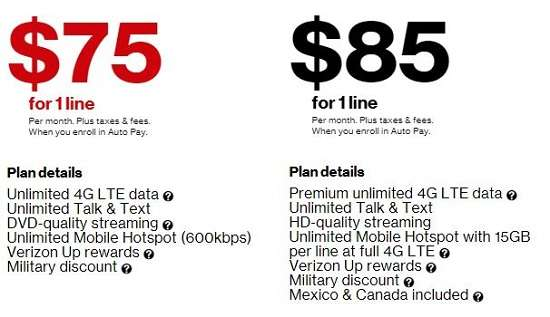 10 Best Verizon Business Cell Phone Plans 2019 - Verizon Smartphone Business Plan $75