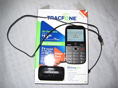 15 Best AT&T Cell Phones for Seniors - Tracfone Big Easy Plus