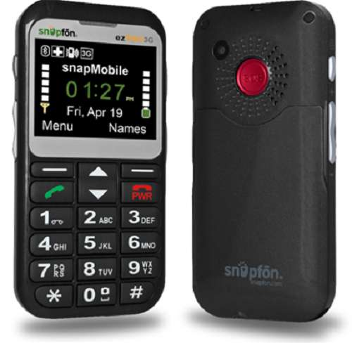 Best Cell Phone for Seniors with Dementia - Snapfon
