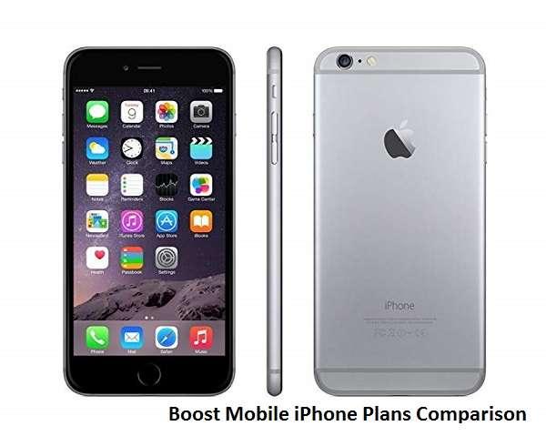 Boost Mobile iPhone Plans Comparison 2019