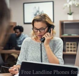 Free Landline Phones for Seniors
