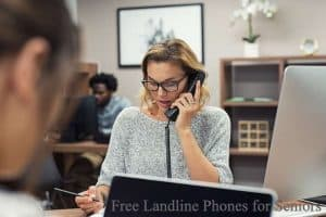 Free Landline Phones for Seniors