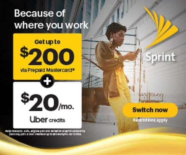 Sprint Deals For Switching