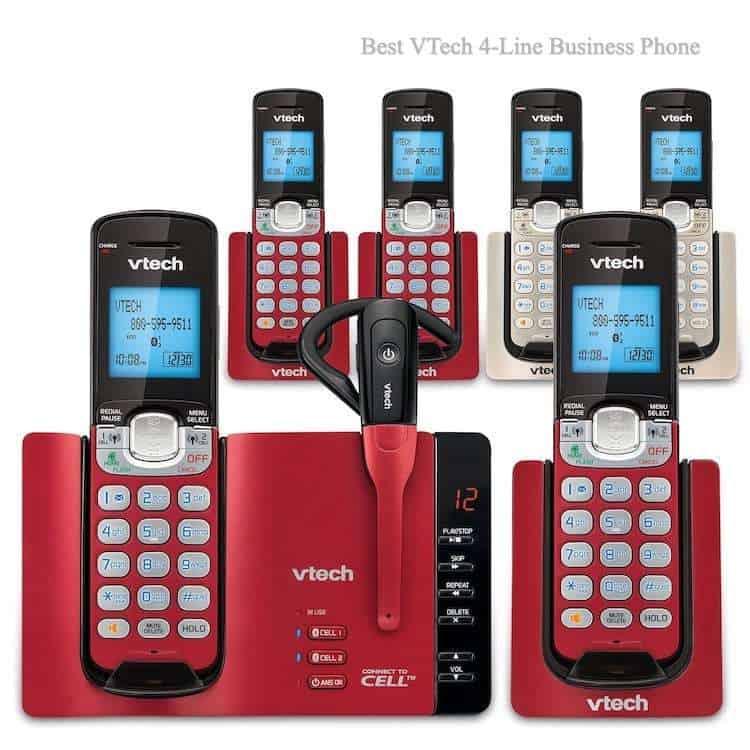 Best VTech 4-Line Business Phone