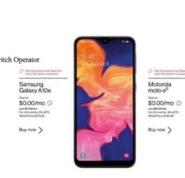 Free Phones When You Switch Operator