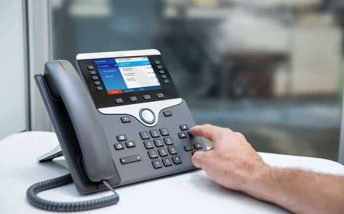How to use Cisco phone system