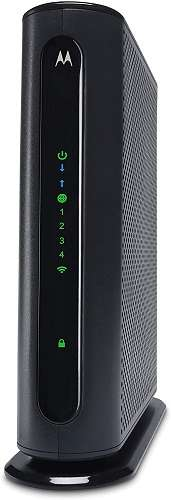 Motorola MG7315 8x4 Cable Modem Plus N450 Single Band Wi-Fi Gigabit Router