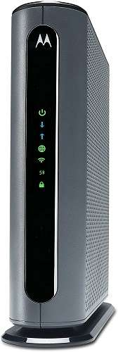 Motorola MG7700 24x8 Cable Modem Plus AC1900 Dual Band Wi-Fi Gigabit Router