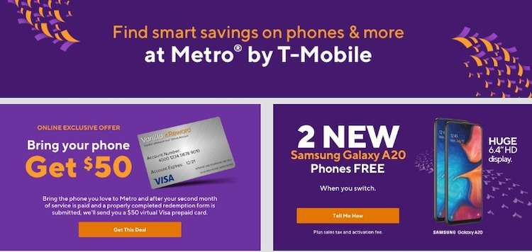 Switch to Metro by T-mobile get a free phone