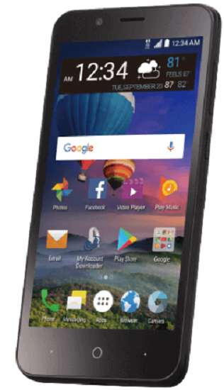 StraightTalk Verizon phones and plans - ZTE ZFIVE C LTE (Z558VL)