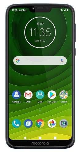Cricket Wireless free phones with plans - Motorola moto g7 SUPRA
