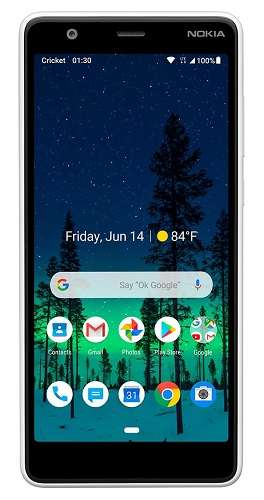 Cricket Wireless free phones with plans - Nokia 3.1 C
