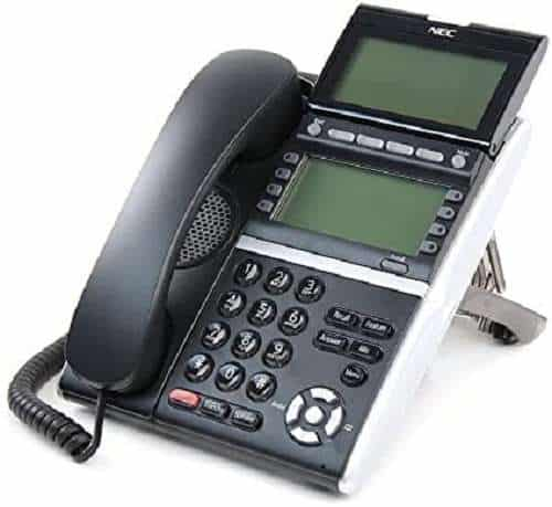 NEC ITZ-8LDG-3 (BK) IP Phone
