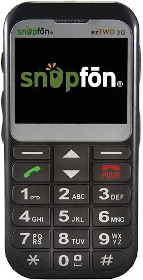 Snapfon ezTWO GSM Cell Phone