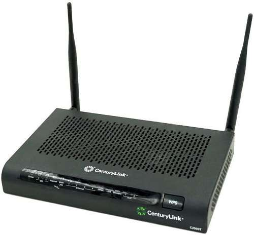 Technicolor C2000T Wireless ADSL2+ VDSL Modem Router Combo