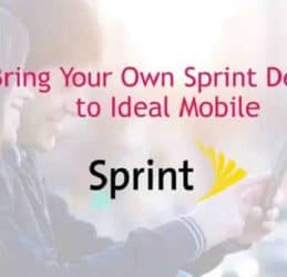 Sprint Bring Your Own Phone