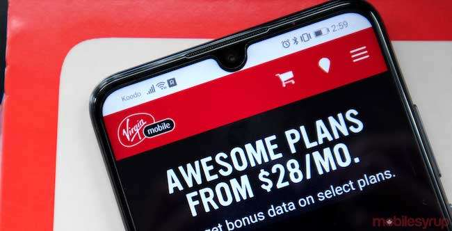 Virgin Mobile unlimited phone calls and broadband packages