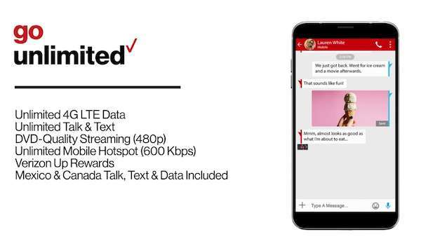Verizon Go Unlimited Plan for Seniors