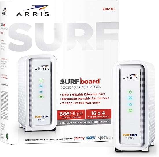 ARRIS Surfboard SB6183