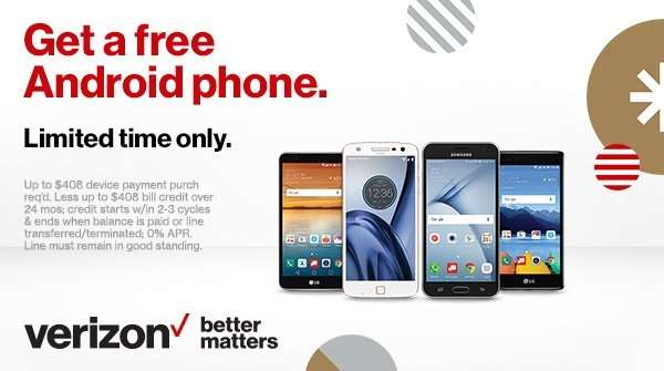 Verizon Deals for New Customers