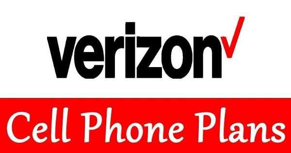 12 Verizon cell phone plans comparison chart