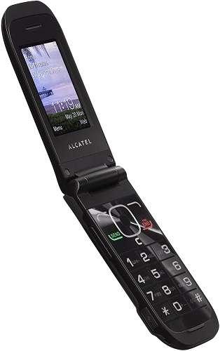 easiest cell phones for seniors - Alcatel Big fácil Flip