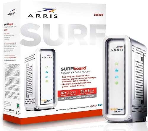 Arris surfboard svg2482ac review