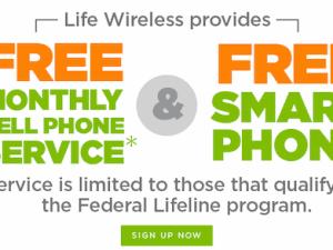 Life Wireless free phones