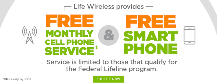 Life Wireless free phones