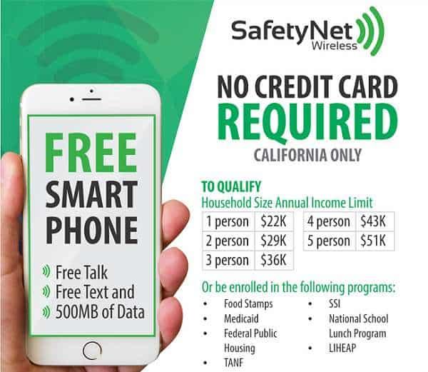 5 best California lifeline cell phone providers 2020