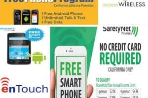 best California lifeline cell phone providers