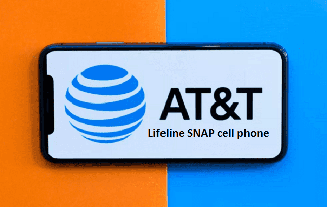 AT&T Lifeline SNAP cell phone
