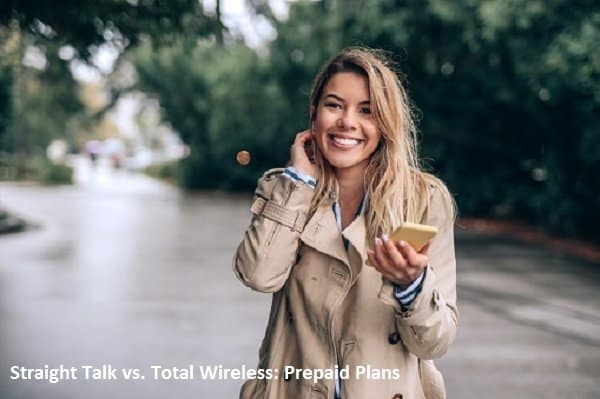 Straight Talk vs. Total Wireless Prepaid Plans